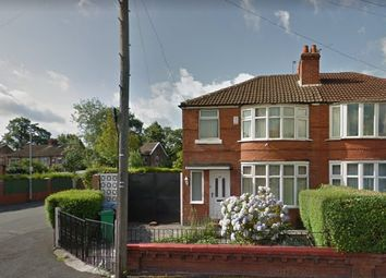 Thumbnail 3 bedroom semi-detached house to rent in Brentbridge Road, Withington, Manchester