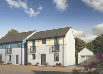 Thumbnail 3 bed semi-detached house for sale in Pomphlett Farm Industrial, Broxton Drive, Plymouth
