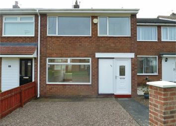 Thumbnail 3 bed terraced house for sale in Woodhorn Drive, Choppington, Northumberland