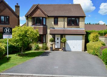 Thumbnail 4 bed detached house for sale in Sawyers Close, Chilcompton