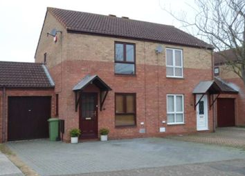 Thumbnail 2 bed semi-detached house to rent in Christian Court, Willen, Milton Keynes