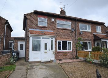 Thumbnail 2 bedroom semi-detached house for sale in Rose Crescent, Scawthorpe, Doncaster