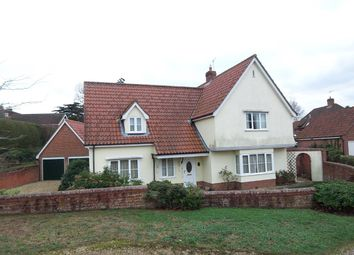 Thumbnail 3 bed detached house for sale in Larks Rise, Halesworth