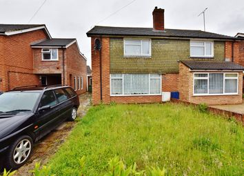 Thumbnail 3 bed semi-detached house for sale in Churchill Close, Didcot