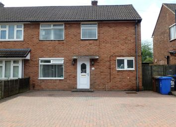 Thumbnail 3 bedroom semi-detached house for sale in Tonbridge Drive, Alvaston, Derby