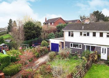 Thumbnail 3 bed semi-detached house for sale in Tregarthen Lane, Pant, Oswestry