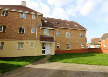 Thumbnail 2 bedroom flat to rent in Rushton Drive, Carlton Colville