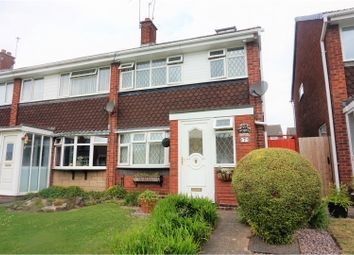 Thumbnail 4 bedroom end terrace house for sale in Blakeley Walk, Dudley