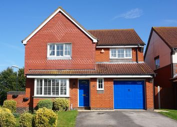 Thumbnail 4 bed detached house for sale in Elbourn Way, Royston