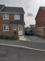 Thumbnail 3 bed semi-detached house for sale in Clos Yr Eryr, Coity, Bridgend