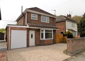 Thumbnail 3 bed detached house for sale in Hexham Avenue, Ilkeston, Derbyshire