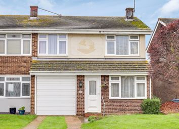 Thumbnail 3 bed semi-detached house for sale in Conway Avenue, Great Wakering, Southend-On-Sea