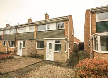 Thumbnail 3 bed end terrace house for sale in Cleadon Avenue, Billingham
