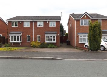 Thumbnail 3 bed semi-detached house to rent in Greenwood Park, Hednesford, Cannock