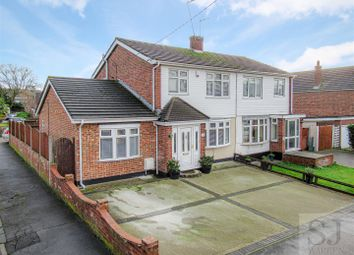Thumbnail 3 bed semi-detached house for sale in Manor Road, Benfleet