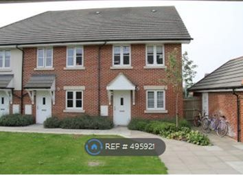 Thumbnail 2 bed end terrace house to rent in Portfield Close, Chichester