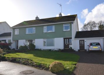 Thumbnail 3 bed semi-detached house for sale in Bosvean Gardens, Truro