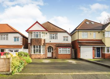 Thumbnail 4 bed detached house for sale in Bourton Road, Solihull