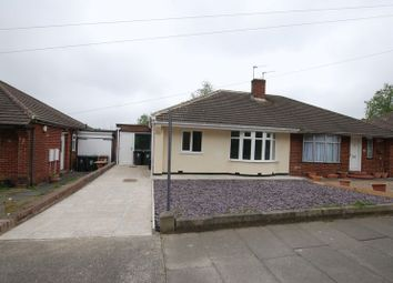Thumbnail 2 bed semi-detached bungalow for sale in Swinhoe Gardens, Wideopen, Newcastle Upon Tyne