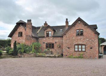 Thumbnail 5 bed detached house for sale in Oulton Mill Lane, Rushton, Tarporley