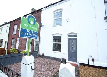 Thumbnail 2 bedroom terraced house to rent in Old Clough Lane, Worsley, Manchester