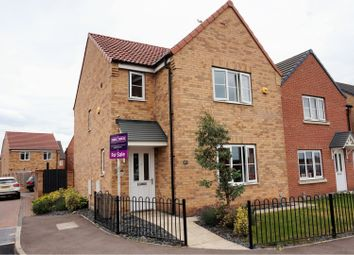 Thumbnail 3 bed detached house for sale in Dunlin Drive, Scunthorpe