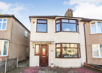 Thumbnail 3 bed semi-detached house for sale in Oaks Avenue, Collier Row, Romford