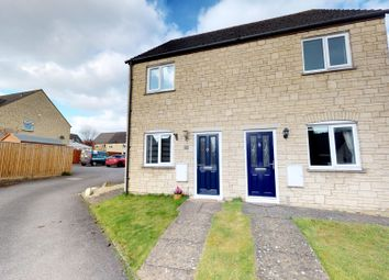 Thumbnail 2 bed semi-detached house for sale in Barrington Close, Witney