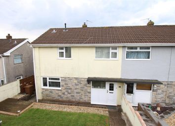Thumbnail 3 bed semi-detached house for sale in Arran Close, Risca, Newport