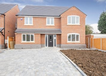 Thumbnail 5 bed detached house for sale in Harborough Road, Oadby, Leicester