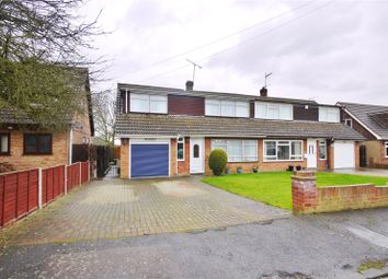 Thumbnail 3 bed semi-detached house for sale in First Avenue, Hook End, Brentwood, Essex