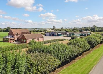 Thumbnail 8 bedroom equestrian property for sale in Kyme Road, Heckington Fen, Sleaford