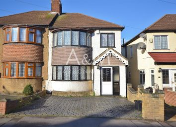 Thumbnail 3 bed semi-detached house for sale in Cheriton Avenue, Clayhall, Ilford