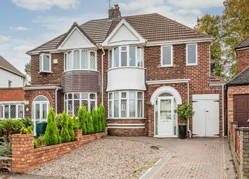 Thumbnail 4 bed semi-detached house for sale in Springfield Crescent, Solihull
