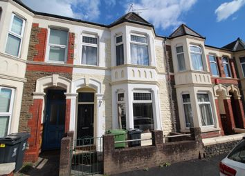 Thumbnail 3 bed terraced house for sale in Dogfield Street, Roath, Cardiff