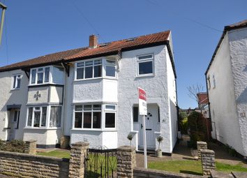 Thumbnail 4 bed semi-detached house for sale in Green Lane, Burwood Park, Hersham, Walton-On-Thames