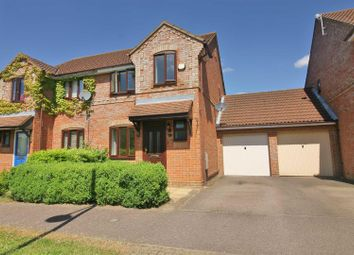 Thumbnail 3 bed semi-detached house to rent in Holst Crescent, Old Farm Park, Milton Keynes