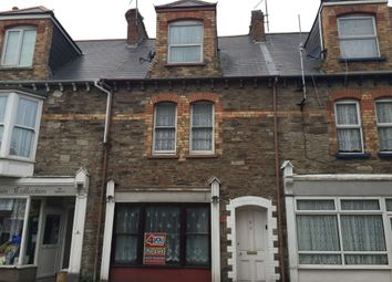 Thumbnail 4 bedroom terraced house to rent in Wilder Road, Ilfracombe, Devon