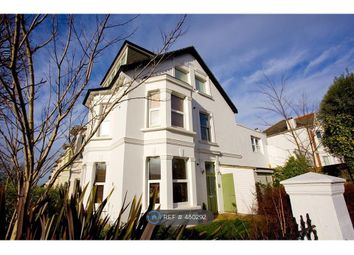 Thumbnail 1 bed flat to rent in Hove Park Villas, Hove