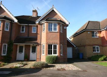 Thumbnail 3 bed semi-detached house to rent in Victoria Gardens, Farnborough