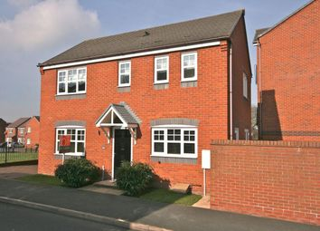 Thumbnail 3 bedroom detached house for sale in Redlands Road, Hadley, Telford