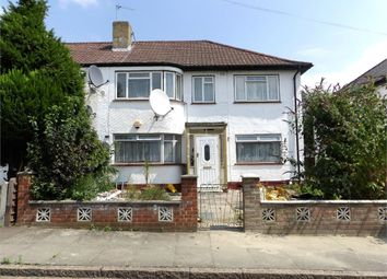 Thumbnail 3 bed flat to rent in Otterburn Gardens, Isleworth, Greater London