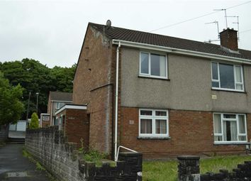 Thumbnail 2 bed flat for sale in Heol Y Ffynnon, Swansea