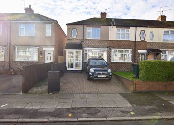 Thumbnail 2 bed end terrace house for sale in Tennyson Road, Coventry