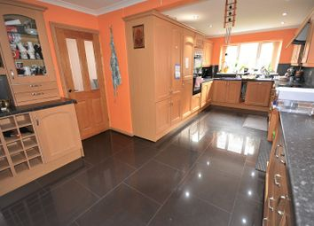 Thumbnail 4 bed detached house to rent in Hastings Crescent, Old St. Mellons, Cardiff.