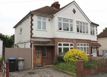 Thumbnail 4 bed semi-detached house to rent in Albert Road, Englefield Green, Egham