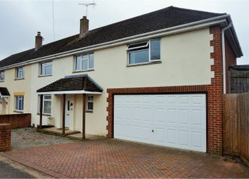 Thumbnail 4 bed semi-detached house for sale in Pinewood Road, Poole