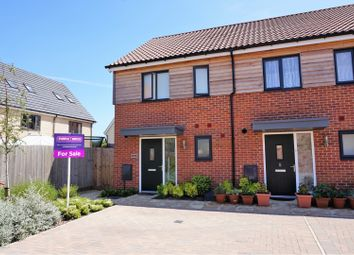 Thumbnail 2 bed end terrace house for sale in Tempest Road, Upper Cambourne Cambridge