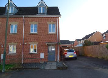 Thumbnail 3 bed town house for sale in Skomer Island Way, Caerphilly