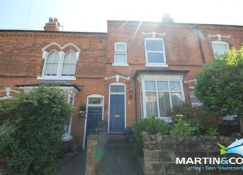 Thumbnail 3 bed terraced house to rent in Rose Road, Harborne